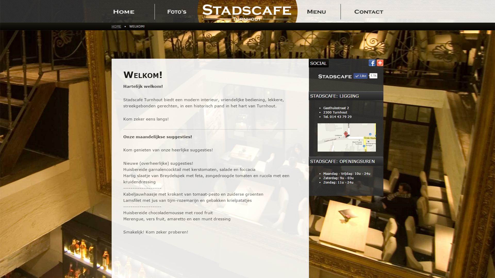 Stadscafe Turnhout 2013