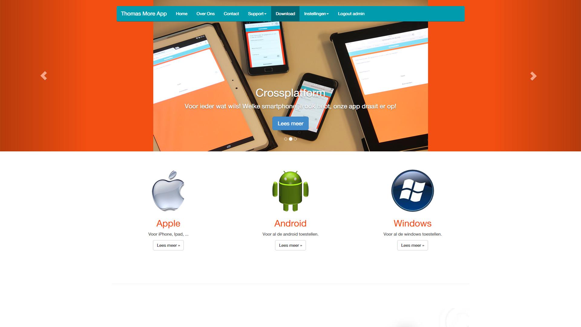 Thomas More App 2014