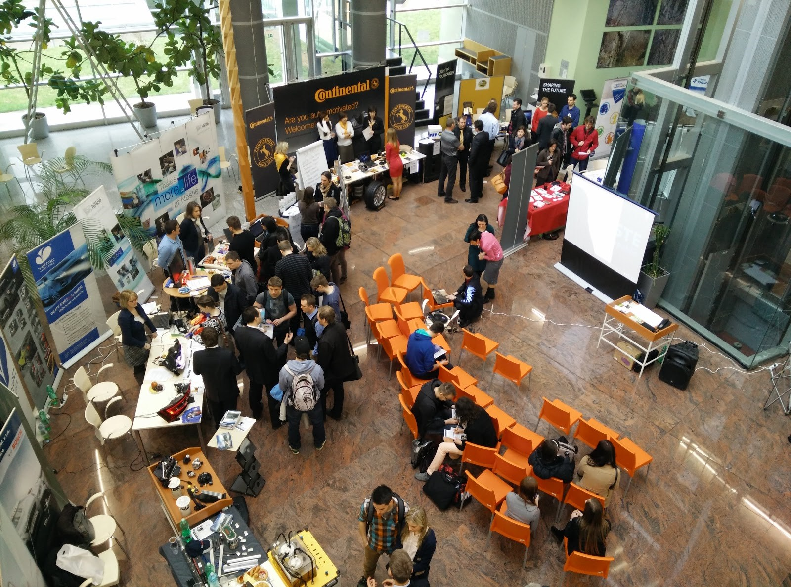 Overview of the job fair