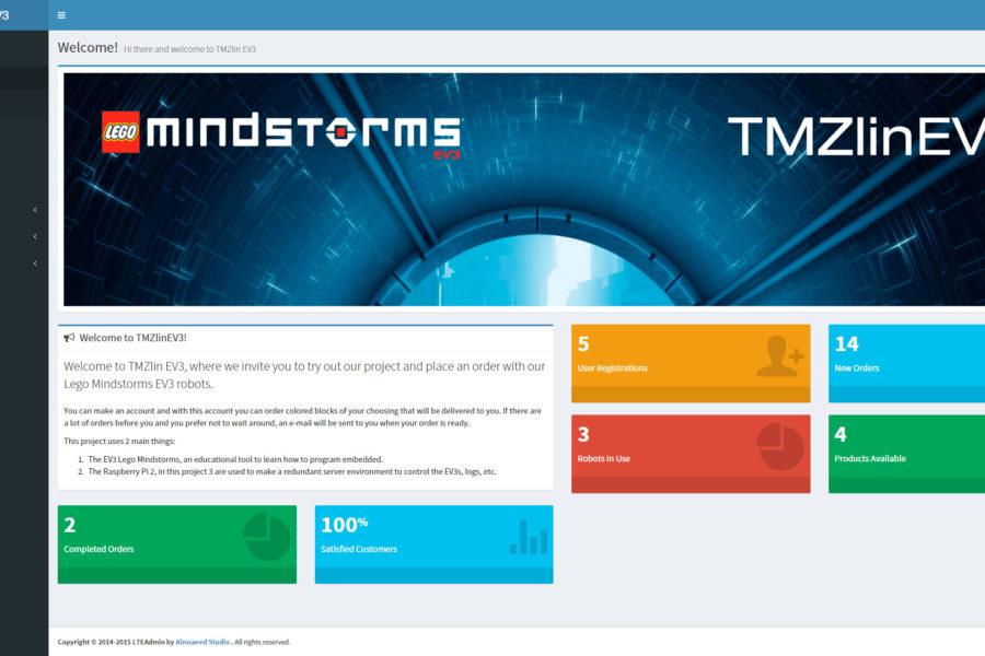 TMZlin EV3 2015 (Simulation of logistic distribution processes through intelligent robotic components)
